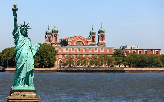 Image result for statue of liberty and ellis island